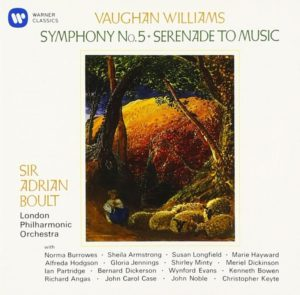 ボールトV.ウィリアムズ交響曲