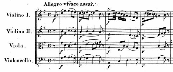 モーツァルト弦楽四重奏14