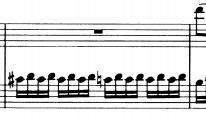モーツァルトピアノソナタ16主題2−1