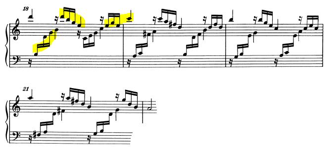 モーツァルトピアノソナタ16主題2-1-2