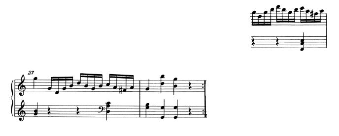 モーツァルトピアノソナタ16主題2-4