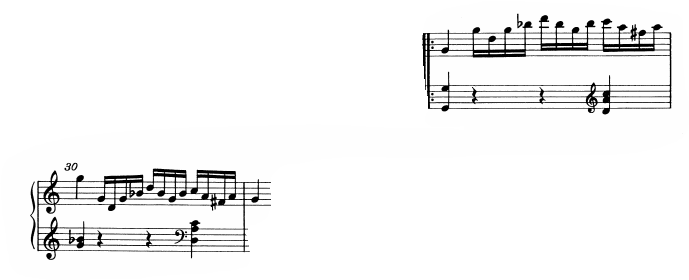 モーツァルトピアノソナタ16展開1