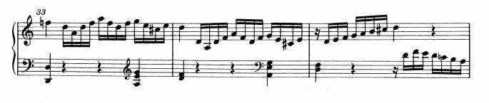 モーツァルトピアノソナタ16展開部3
