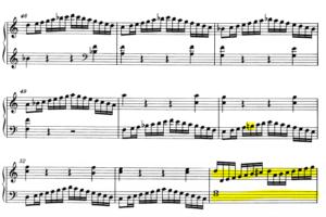モーツァルトピアノソナタ16再現部2