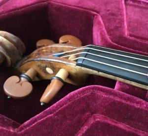 ヴァイオリンナット修理