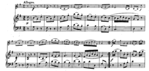 モーツァルトヴァイオリンソナタ第25番第二楽章