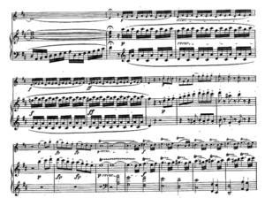 モーツァルトヴァイオリンソナタカデンツァらしいところ