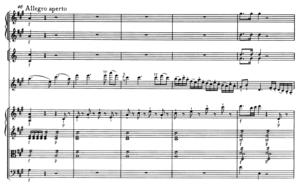 モーツァルトヴァイオリン協奏曲第5番第一主題