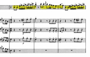 モーツァルトヴァイオリン協奏曲第5番対話
