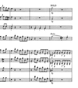 モーツァルトヴァイオリン協奏曲第5番嬰ハ短調