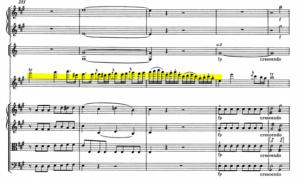 モーツァルトヴァイオリン協奏曲第5番最高音
