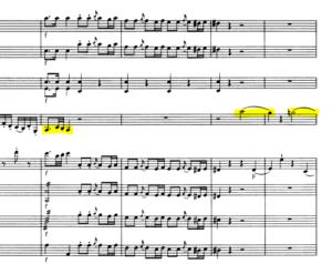 モーツァルトヴァイオリン協奏曲第5番変化