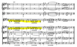モーツァルトヴァイオリン協奏曲第5番怖いメロディ